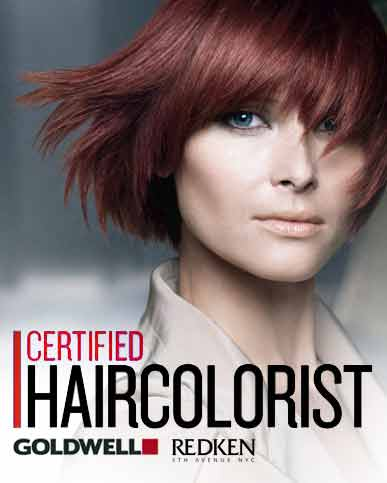 Redken and Goldwell Certified Salon